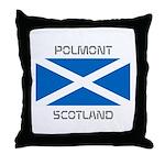 Polmont Scotland Throw Pillow