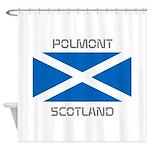 Polmont Scotland Shower Curtain
