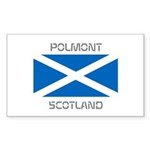 Polmont Scotland Sticker (Rectangle 10 pk)