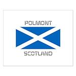 Polmont Scotland Small Poster