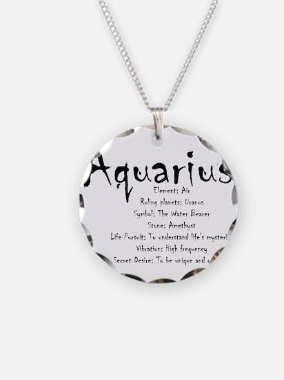 Aquarius Traits Necklace