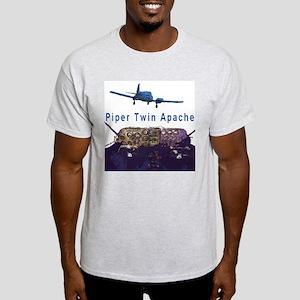 Twin Apache Ash Grey T-Shirt