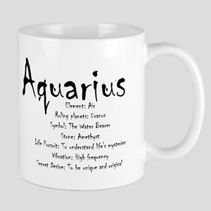Aquarius Traits 11 oz Ceramic Mug