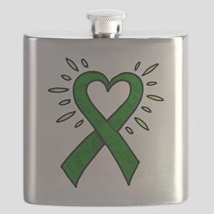 HeartRibbon Flask