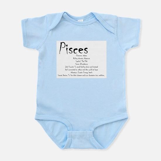 Pisces Traits Baby Light Bodysuit