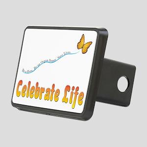 CelebrateLife2a Rectangular Hitch Cover