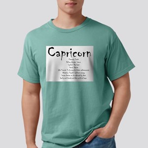 Capricorn Traits Mens Comfort Colors Shirt