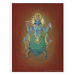 suj - Vishnu as Kurma poster