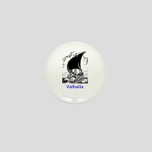 VALHALLA SHIP (ORIGINAL) Mini Button