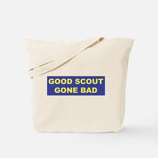 Good Scout Gone Bad (Blue) Tote Bag