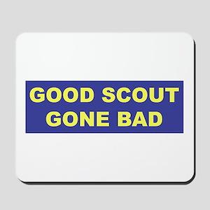 Good Scout Gone Bad (Blue) Mousepad