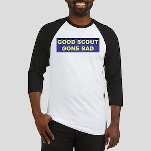 Good Scout Gone Bad (Blue) Baseball Jersey