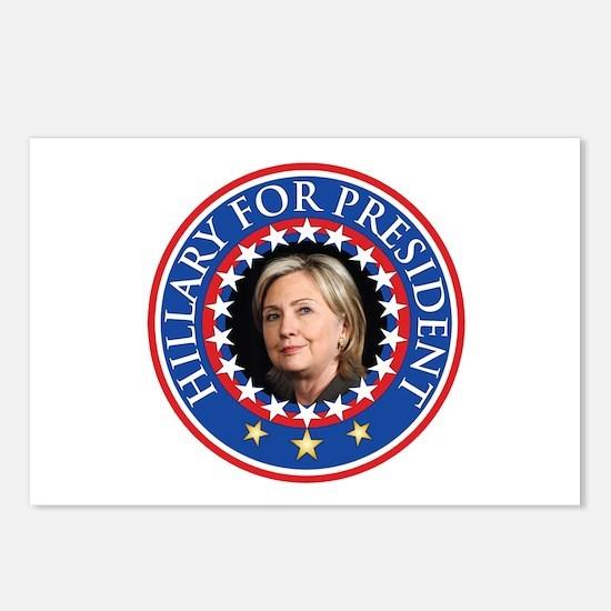 Hillary for President - Presidential Seal Postcard