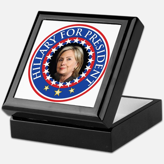 Hillary for President - Presidential Seal Keepsake