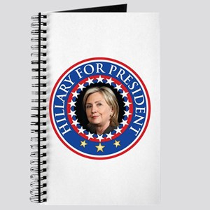 Hillary for President - Presidential Seal Journal