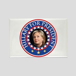 Hillary for President - Presidential Seal Magnets