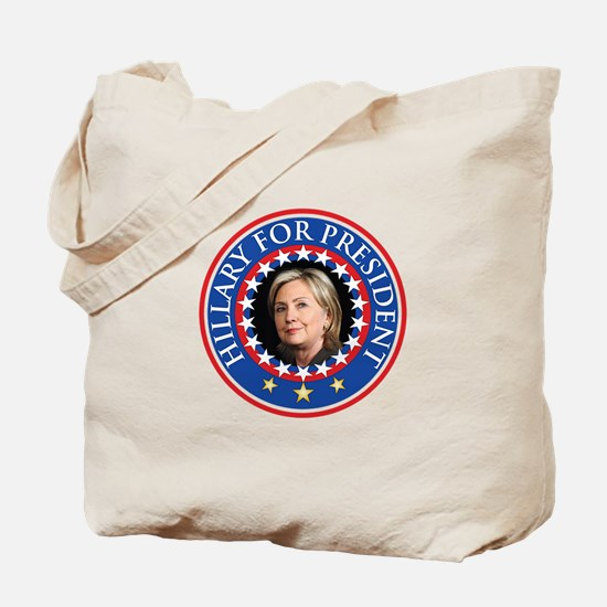 Hillary for President - Presidential Seal Tote Bag