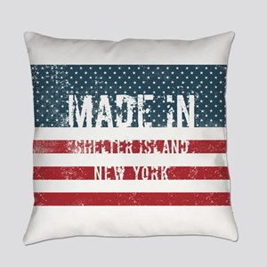 Made in Shelter Island, New York Everyday Pillow