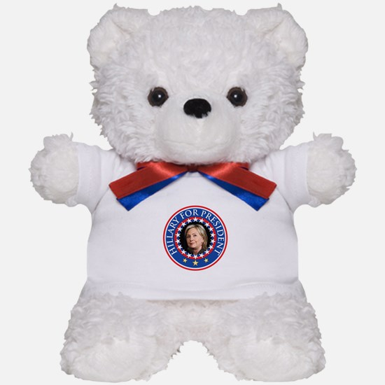 Hillary for President - Presidential Seal Teddy Be