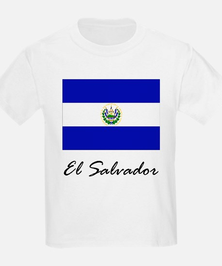 El Salvador Kids T-Shirt