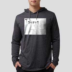 Taurus Traits Mens Hooded Shirt