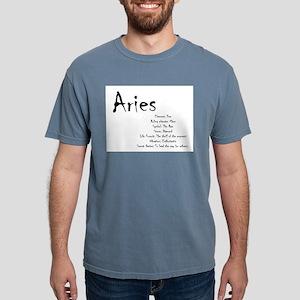 Aries Traits Mens Comfort Colors Shirt