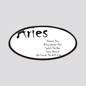 Aries Traits Patch
