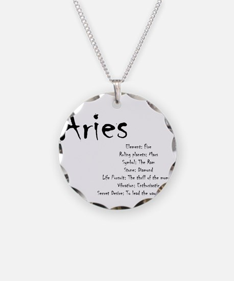 Aries Traits Necklace