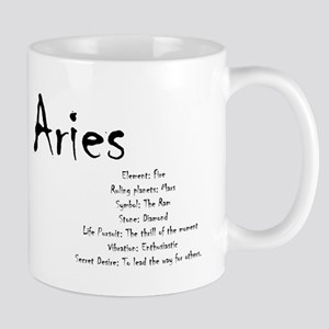 Aries Traits 11 oz Ceramic Mug