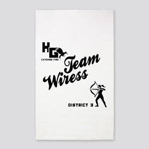 Catching Fire Team Wiress 3'x5' Area Rug