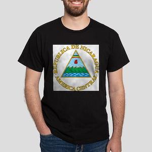 Nicaragua Coat Of Arms Ash Grey T-Shirt