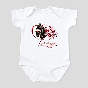 Love Harness Aunty Infant Bodysuit