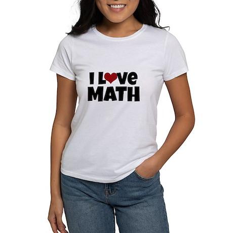 Amo La Matematica T-shirt dKiac