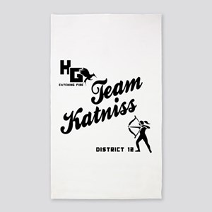 Catching Fire Team Katniss 3'x5' Area Rug