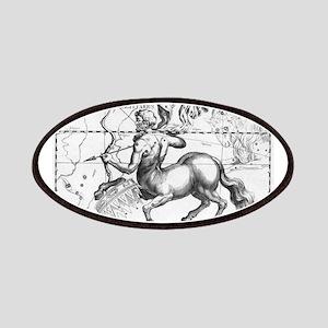 Sagittarius 17th Centure drawing Patch