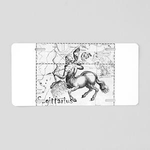 Sagittarius 17th Centure drawing Aluminum License