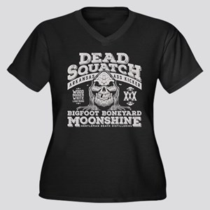 Dead Squatch Moonshine Plus Size T-Shirt