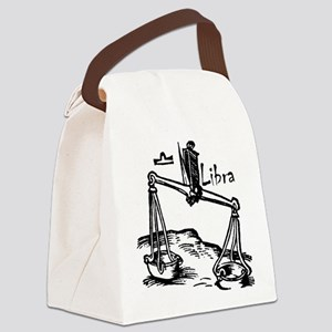 Libra 16th Century Drawing Canvas Lunch Bag