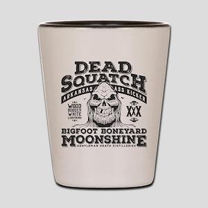 Dead Squatch Moonshine Shot Glass