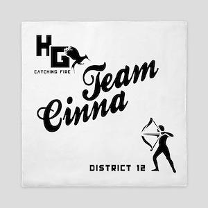 Catching Fire Team Cinna Queen Duvet
