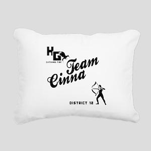 Catching Fire Team Cinna Rectangular Canvas Pillow