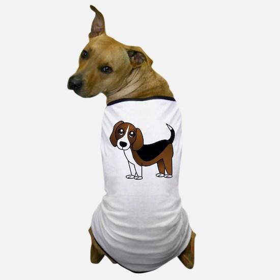 Beagle Cartoon Dog Dog T-Shirt