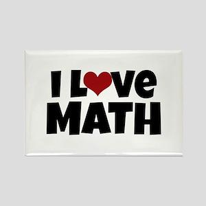 I Love Math Magnets