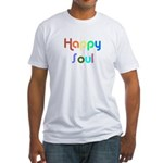 Happy Soul Fitted T-Shirt