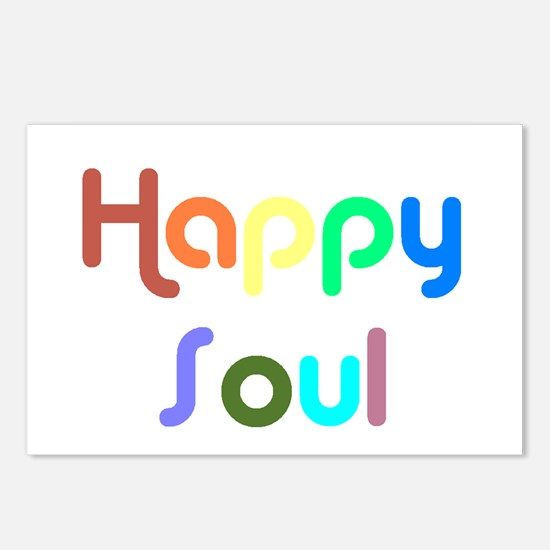 Happy Soul Postcards (Package of 8)