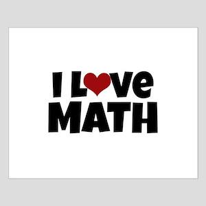 I Love Math Posters
