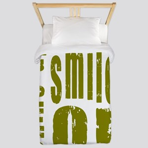 Chins Up Smiles On Twin Duvet