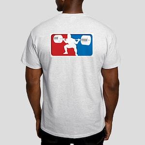 VINTAGE SQUAT Ash Grey T-Shirt