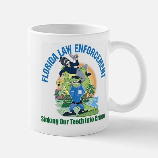 Florida Police Gator Mug