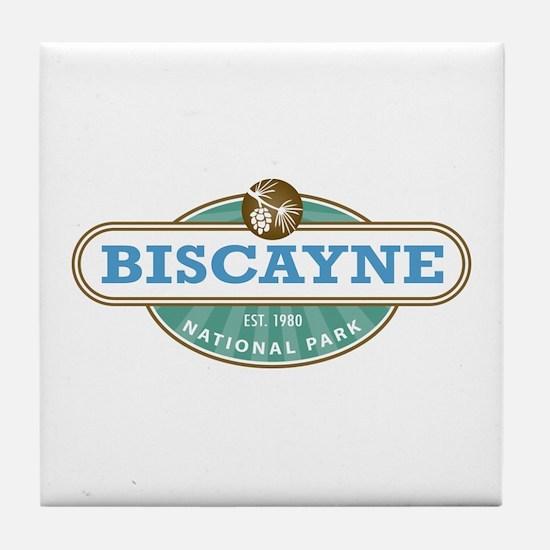 Biscayne National Park Tile Coaster